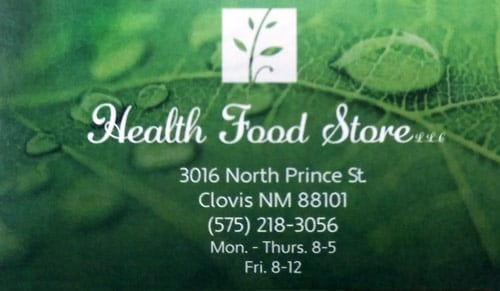 Chiropractic Clovis NM The Health Food Store